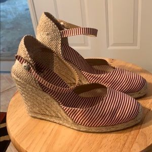Castaner Shoes wedge hells Size 7